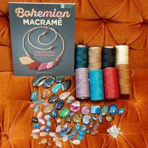 Macrame Jewelry Supplies